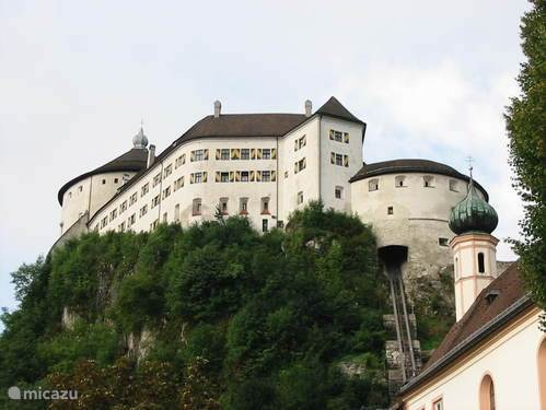 The magnificent fortress of Kufstein, built between 1518 and 1522. Definitely worth a visit.