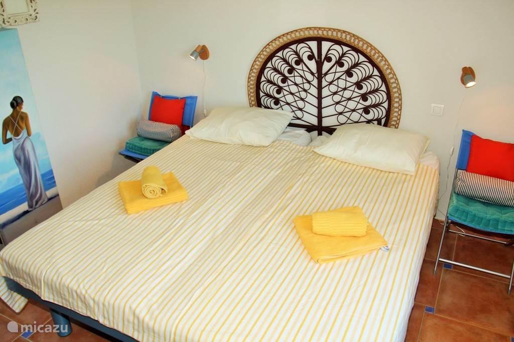 De tweede slaapkamer