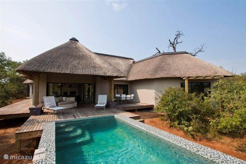 Vakantiehuis Zuid-Afrika, Limpopo, Hoedspruit villa Villa Blaaskans - Krugerpark