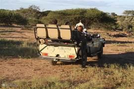 Safari in het Kapama Game Reserve Zuid-Afrika