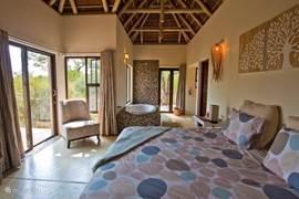 Slaapkamer vakantiehuis Zuid-Afrika