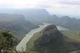 De Zuid-Afrikaanse Blyde River Canyon op 20 minuten rijden