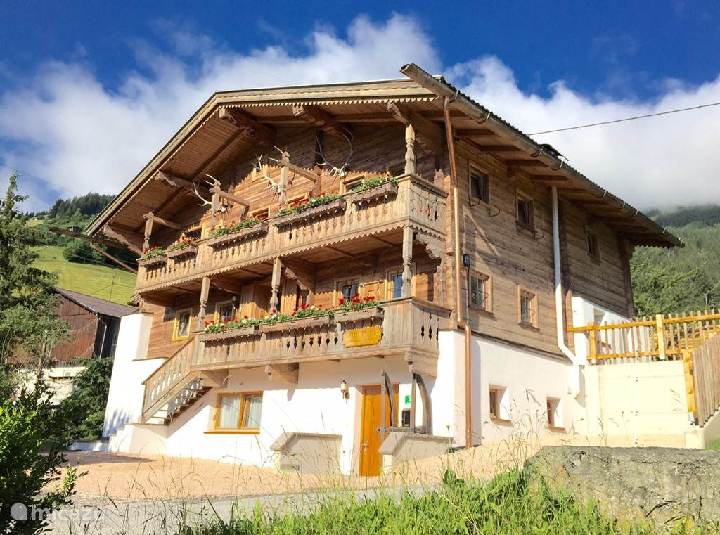 Vacation rental Austria, Tyrol, Fugen holiday house Holiday home Alte Mühle
