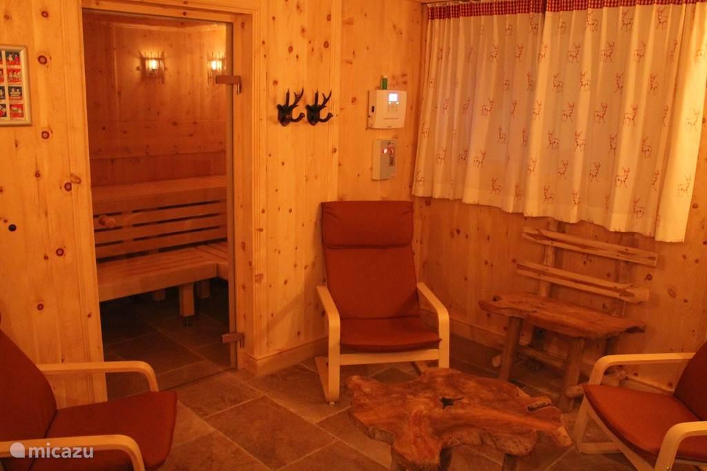 Chalet Alte Mühle Fügenberg Zillertal Tirol Sauna
