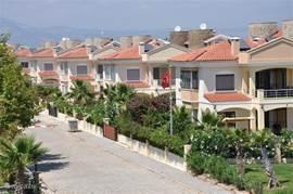 Park Palm Lane Belek, een park met 20 huizen, vooral van Nederlandse eigenaren.