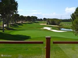Een van de prachtige golfbanen in de omgeving.  De Montgomery.
