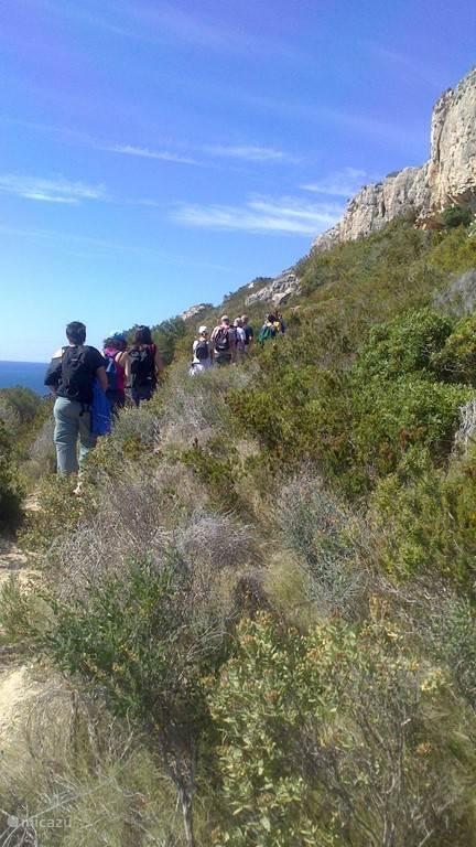 Wandelroute naar Cap d' Or Moraira