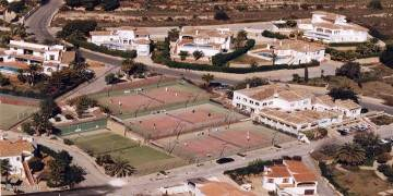 Club Tennis urbanisation Sol Park Calle Lerida 2 Moraira