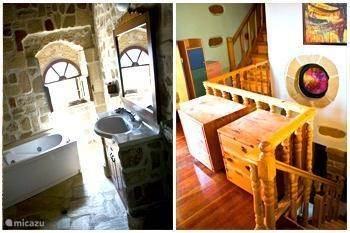 Vakantiehuis Griekenland, Rhodos, Koskinou Vakantiehuis Cliff house, big stonebuilt house