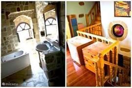 badkamer en de hal