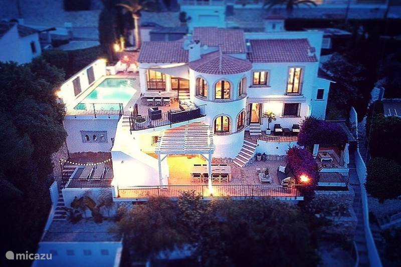 Vakantiehuis Spanje, Costa Blanca, Moraira Villa Villa Royal Palm