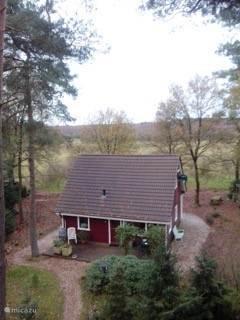 Winter 2016 - De Geelgors op de foto vanuit de Vliegden bij het huis.