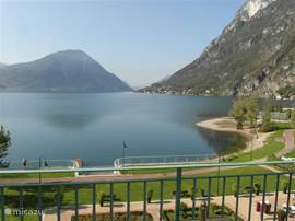 Superb views from the 3rd floor of Lake Lugano.