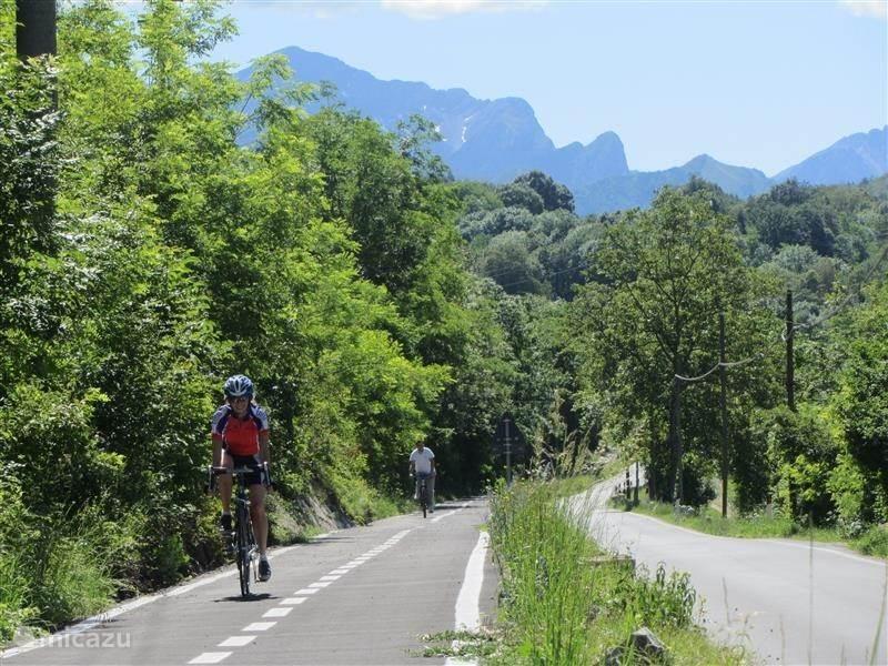 Voor de fietsers / wielrenners
