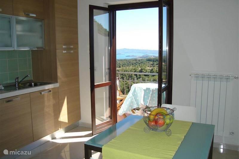 Vakantiehuis Italië, Meer van Bolsena, Valentano Appartement Tussen Rome en Toscane!