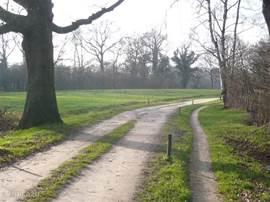 fiets en wandelpaden