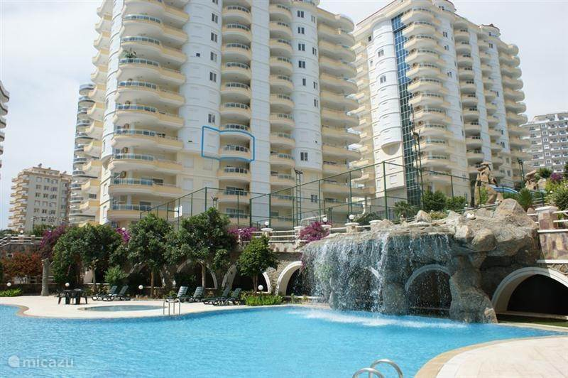 Vakantiehuis Turkije, Turkse Rivièra, Alanya - appartement Paradise Hill B1-7