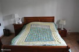 Slaapkamer op begaande grond