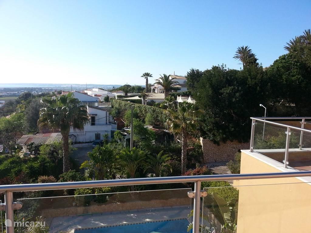 Panoramisch uitzicht vanaf elk terras