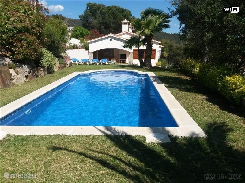 Vakantiehuis Spanje, Costa Brava, Calonge - villa Casa La Liebre