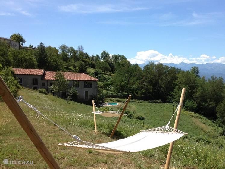 Vakantiehuis Italië, Piëmont, Castellino Tanaro vakantiehuis Casa Ochetto (4-18 personen)