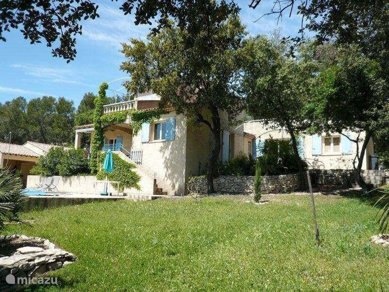 Vacation rental France, Languedoc-Roussillon, Congénies villa La Draille