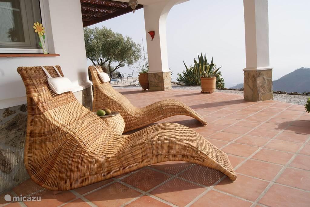 Relaxen op de veranda...