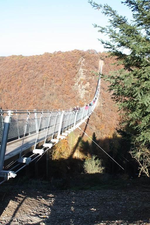 Langste hangbrug van Duitsland op een afstand van 8 km van Haus Buchholz