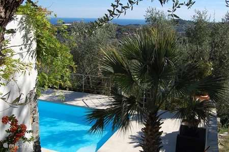 Vakantiehuis Italië, Ligurië, Civezza villa Casa Riviera (tussen olijfbomen)