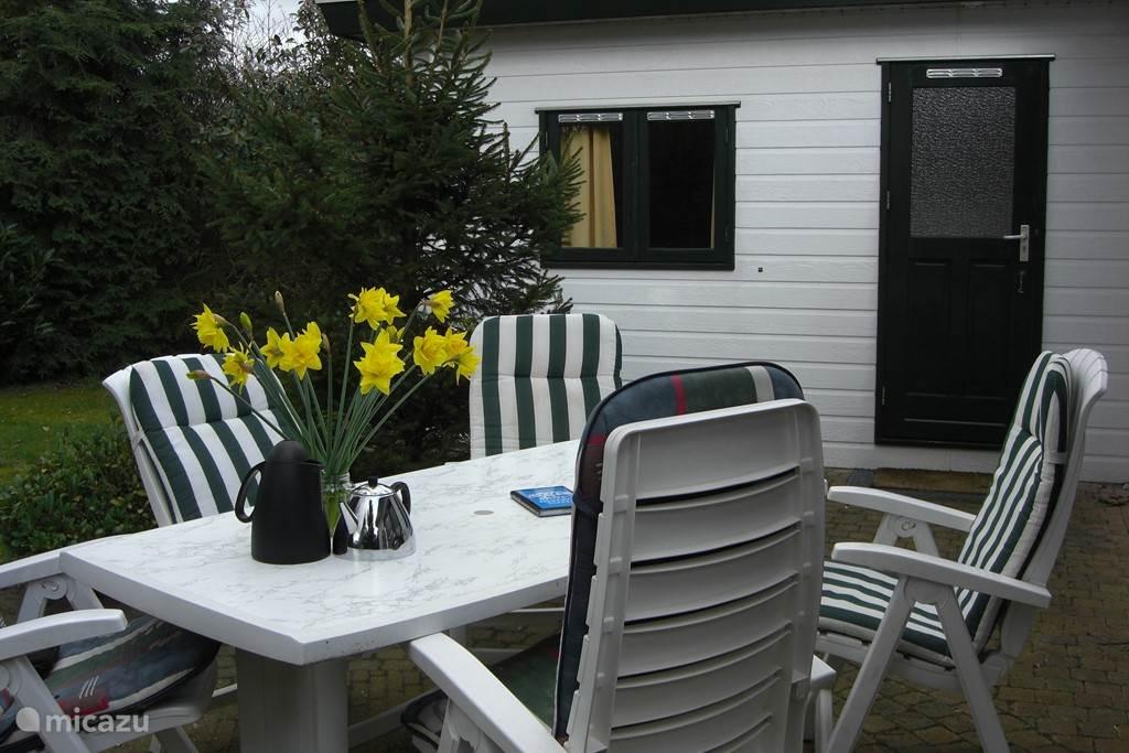 Een eigen tuin met veel privacy en plekken in de zon en schaduw
