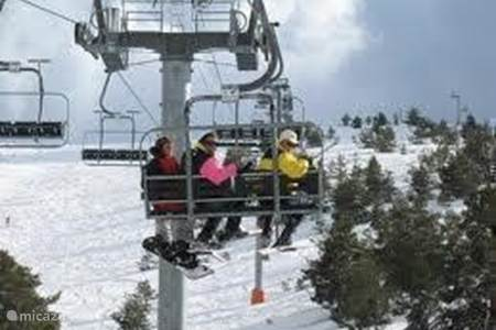Skiën wintersport