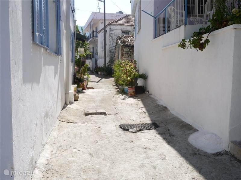 Het oude Griekse dorp