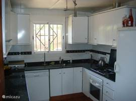The spacious, bright, fully equipped kitchen with a dishwasher, of course!