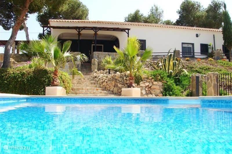 Vakantiehuis Spanje, Costa Blanca, Alicante Vakantiehuis Casa Jowi