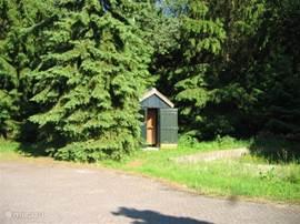 Sauna hut maar is momenteel buiten gebruik.