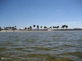 Pine Island vanaf de Golf van Mexico