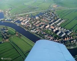 West-Graftdijk van boven. (Foto: L. Ransijn)