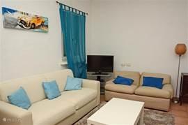 Appartement-woonkamer