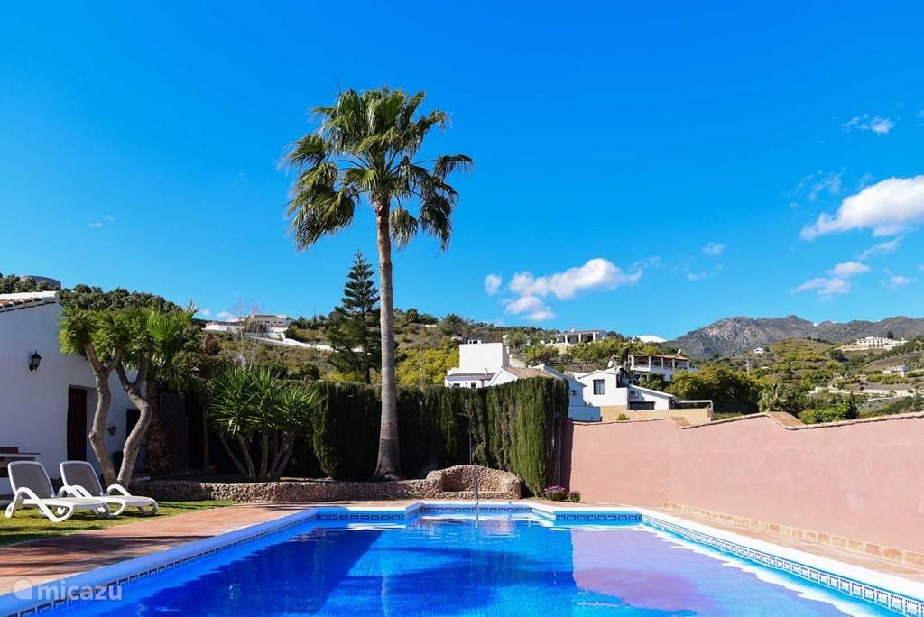 Vakantiehuis Spanje, Andalusië, Frigiliana - villa Cortijo la Perla de Frigiliana