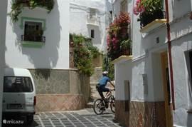 In het dorp zijn mountainbikes te huur voor een tocht in het natuurpark. Meerijden met een terreinwagen in het berggebied kan ook.