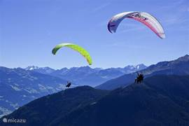 Fancy an adventure? What about paragliding? Or maybe you prefer rafting or climbing steep wall!