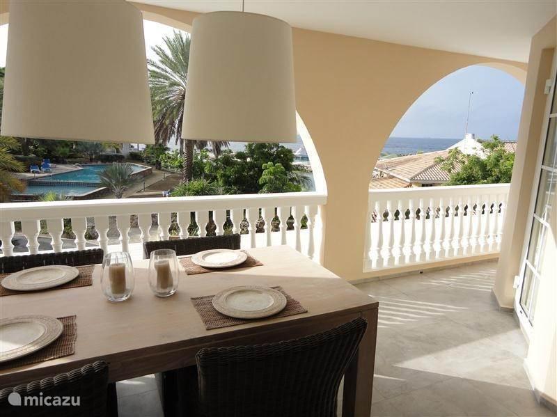 Vakantiehuis Curaçao, Banda Ariba (oost), Mambo Beach - appartement Appartement Flamingo