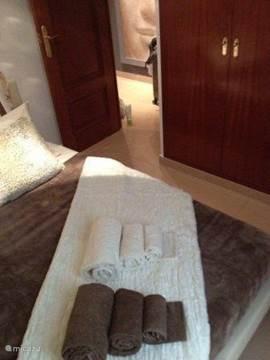 Ook in de Loggia slaapkamer is uiteraard alles perfect gestyled.