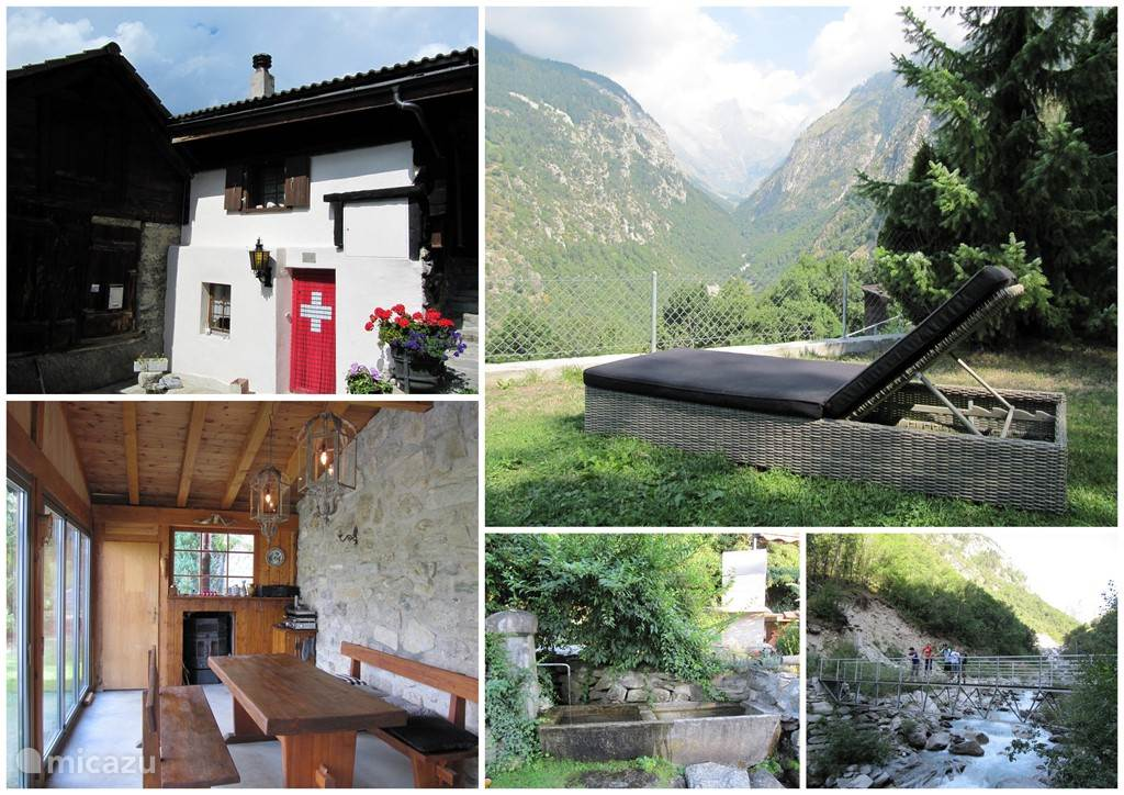 Vacation rental Switzerland – chalet Baltschieder Blick