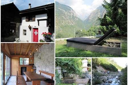 Vakantiehuis Zwitserland – chalet Baltschieder Blick