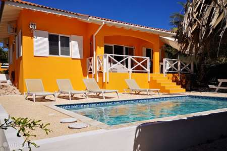 Vakantiehuis Curaçao, Banda Abou (west), Fontein villa Villa Dushi met privé zwembad