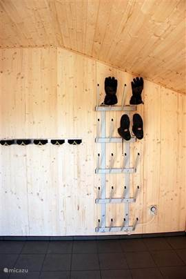 Ski shoes dryer