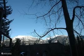 machtig berg zicht