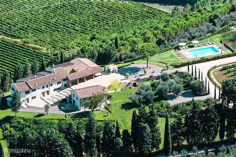 Vacation rental Italy, Tuscany, Mercatale Val Di Pesa Villa Villetta