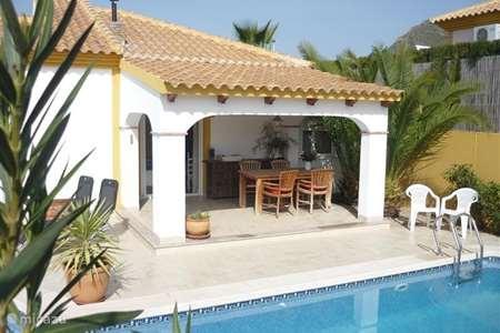 Vacation rental Spain, Costa Calida, Mazarrón villa Casa Miantojo - Rest and Space